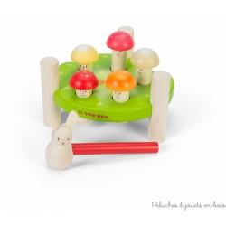 Le toy van, Jeu de Marteau Messieurs Champignons