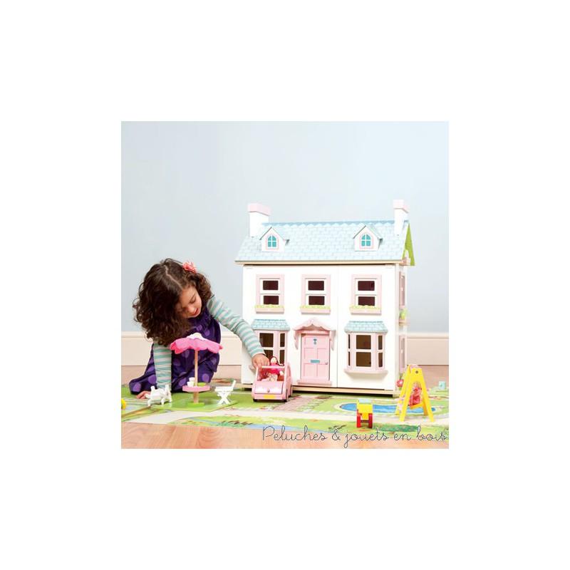 Tapis de jeu pour maison de poup e le toy van au d cor for Jeu decoration maison