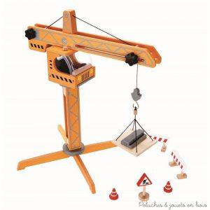 Grue élévatrice jouet en bois Hape