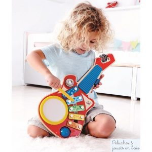 Guitare Orchestre en bois 6 en 1 Hape E0335