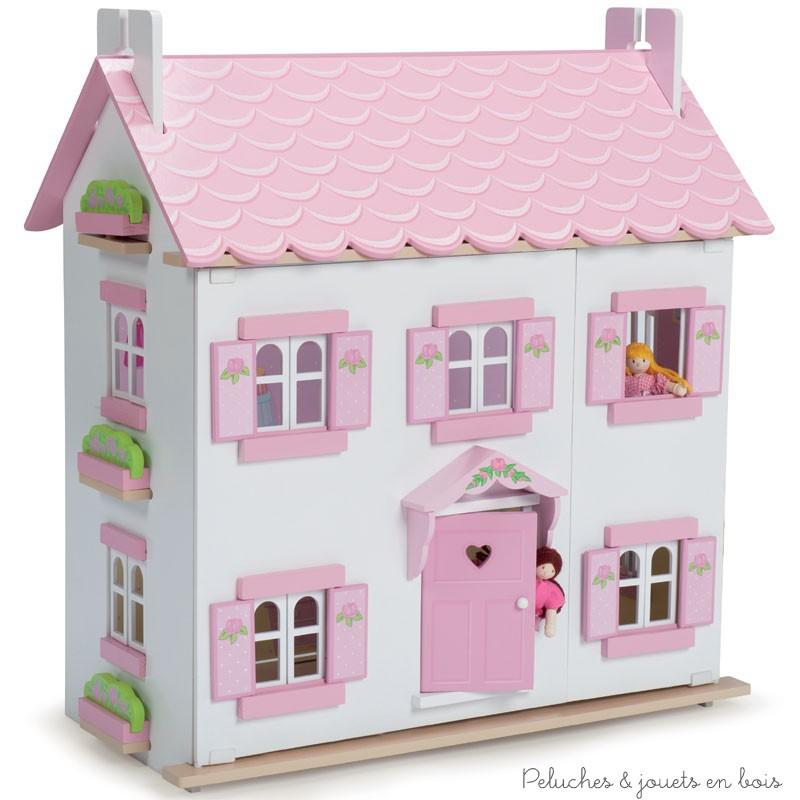 Le chateau fort et la maison de poupée en bois, c'est l'ADN de la célèbre marque anglaise Le Toy Van