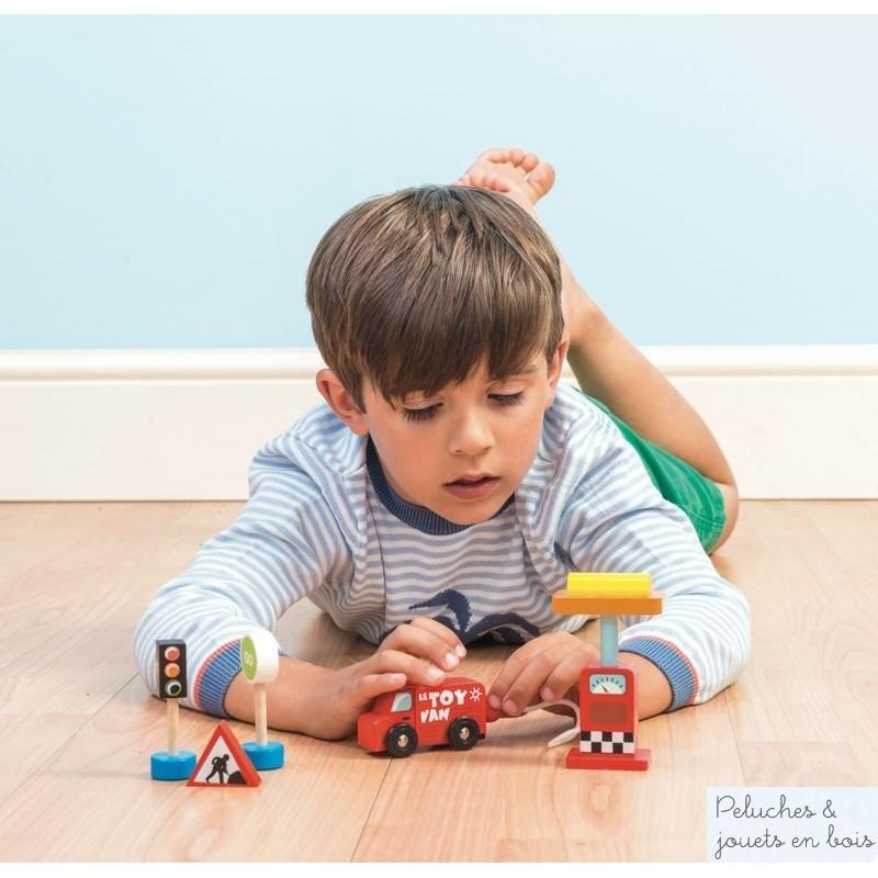Jouet en bois Le toy van Accessoires de signalisation routière