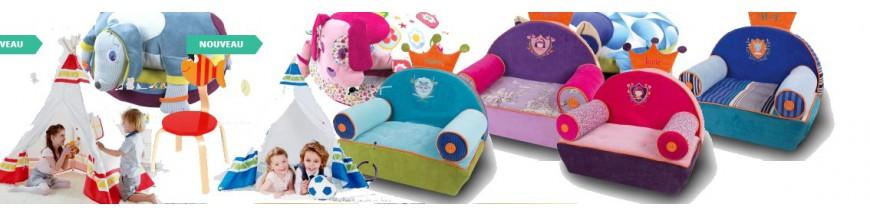 Table, chaise, coffre à jouets & petits meubles Déco