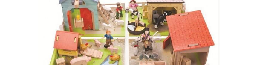 Jouer avec les Animaux de la ferme Chevaux, Jungle Cirque Dinosaures...